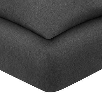 Harrison Fitted Sheet - Charcoal