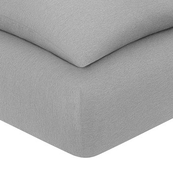 Harrison Fitted Sheet - Heather Grey