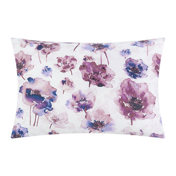Watercolour Bloom Pillowcases - Set of 2 - Amethyst