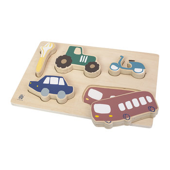 Wooden Chunky Puzzle - Little Driver