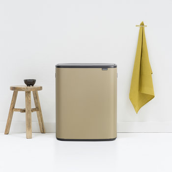 Bo Touch Bin - 60 Litre - Mineral Golden Beach