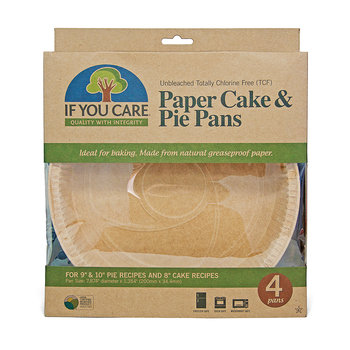 Paper Cake and Pie Pans - Pack of 4