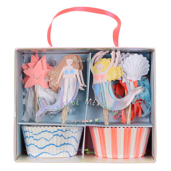 Children's Cupcake Kit - Let's Be Mermaids
