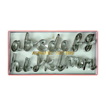Alphabet Cookie Cutters Set