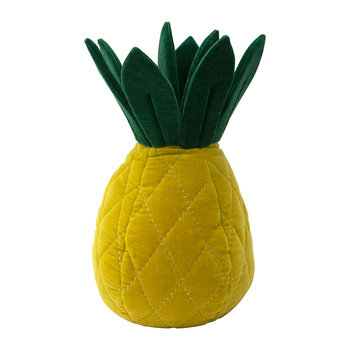 Children's Velvet Cushion - Pineapple