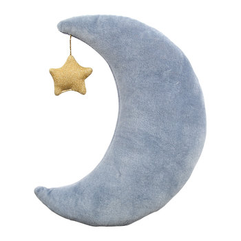 Children's Velvet Cushion - Moon
