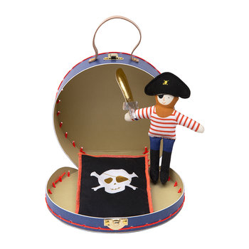 Mini Doll in Suitcase - Pirate