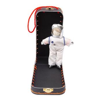 Mini Doll in Suitcase - Astronaut