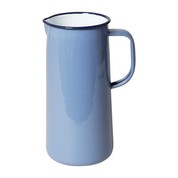 Limited Edition Enamel Pitcher - 3 Pints - Periwinkle