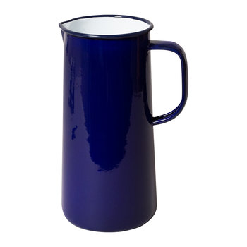 Limited Edition Enamel Pitcher - 3 Pints - Falcon Blue