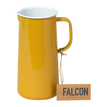 Limited Edition Enamel Pitcher - 3 Pints - Mustard Yellow