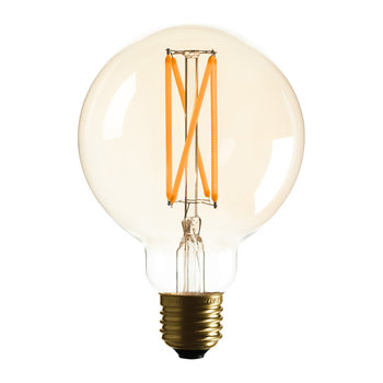 G95 Spherical Bulb - Amber Tint