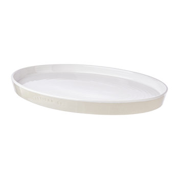 Large Ceramic Oval Platter