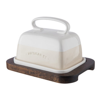 Ceramic Butter Dish Set