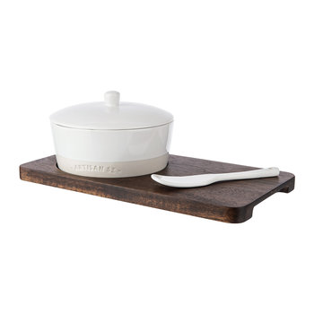 Ceramic Cheese Baker Set