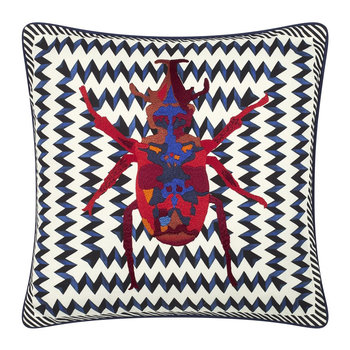 Beetle Waves Cushion - 40x40cm