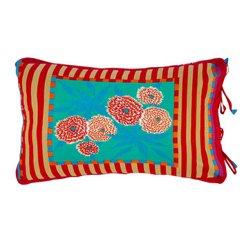 Cotton Cambric Cushion - 35x50cm - Red