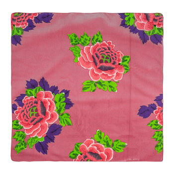 Floral Cotton Napkin - Set of 6 - Pink