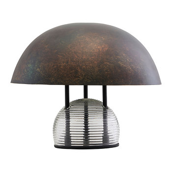 Umbra Table Lamp - Antique Brown