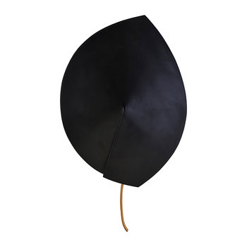 Leaf Wall Light - Black