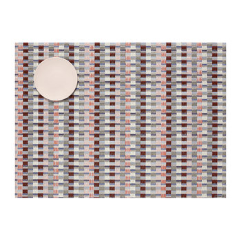 Heddle Woven Rectangular Placemat - Dogwood