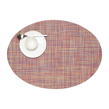 Basketweave Woven Circle Placemat - Festival