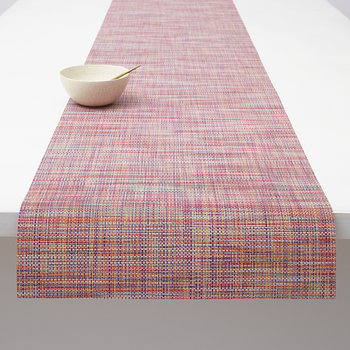 Mini Basketweave Woven Table Runner - Festival