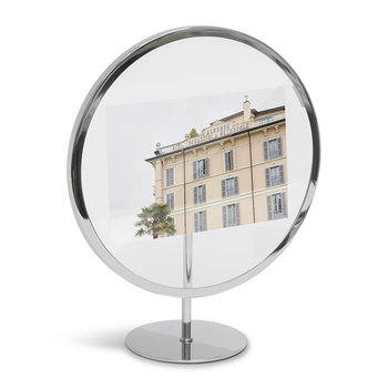 Infinity Elevated Photo Frame - Chrome
