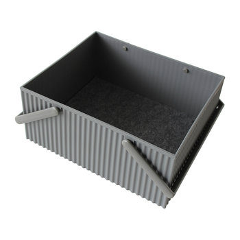 Omnioffre Carry Box with Handle  - Gray
