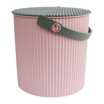 Omnioutil Storage Bucket with Lid - Rose