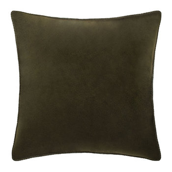 Soft Fleece Pillow - 50x50cm - Bottle Green
