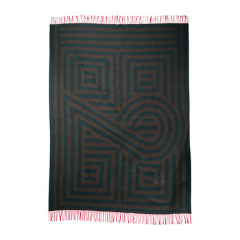 1828 Fringed Blanket - Forest