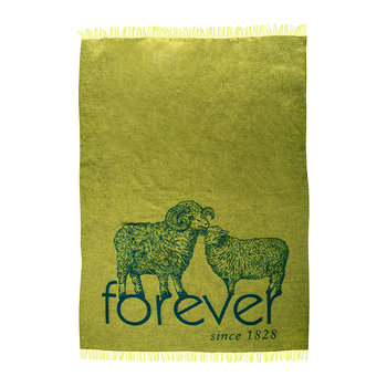 Bah Forever! Blanket - Lemon