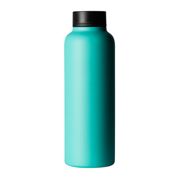 Stainless Steel Flask - Aqua