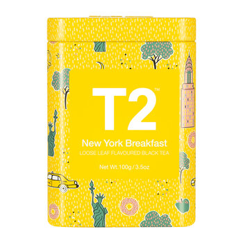 Limited Edition Designer Tea Tin - New York Breakfast