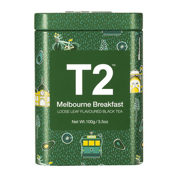 Limited Edition Designer Tea Tin - Melbourne