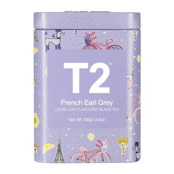 Limited Edition Designer Tea Tin - French Earl Grey