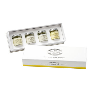 Mini Candle Gift Box - Citrus Fruits