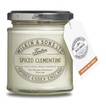 Jam Jar Natural Wax Candle - Spiced Clementine