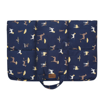 Dog Print Dog Travel Mat