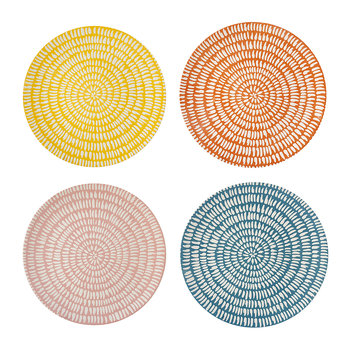 Seeds Dinner Plate - Set of 4