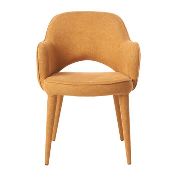 Cozy Fabric Chair - Ocher