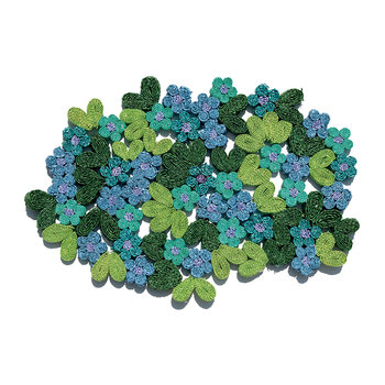Florigraphie Table Mat - Forget Me Not
