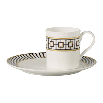 MetroChic Coffee Cup & Saucer