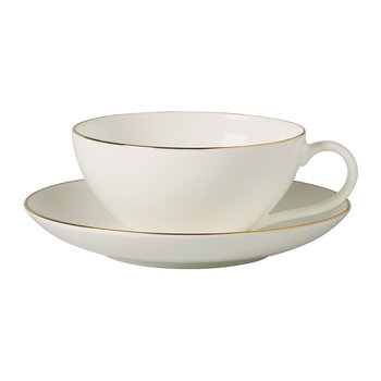 Anmut Gold Tea Cup & Saucer