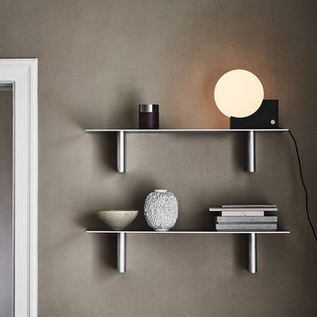 Column Rectangular Shelf - Aluminium