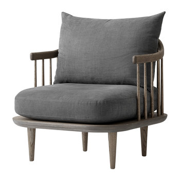 SC10 Fly Chair - Smoked Oiled Oak/Hot Madison 093