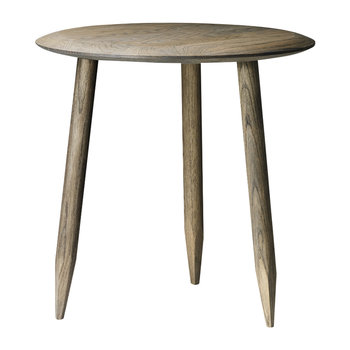 Hoof Wooden Side Table - Smoked