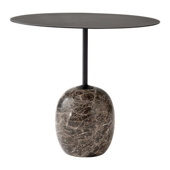 Lato Round Table - Black
