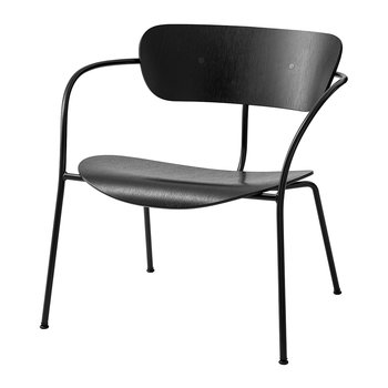 Pavilion Wooden Lounge Chair AV5 - Black